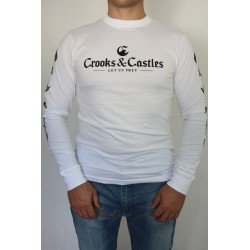 LONGSLEEVE CROOKS & CASTLES LET US PREY