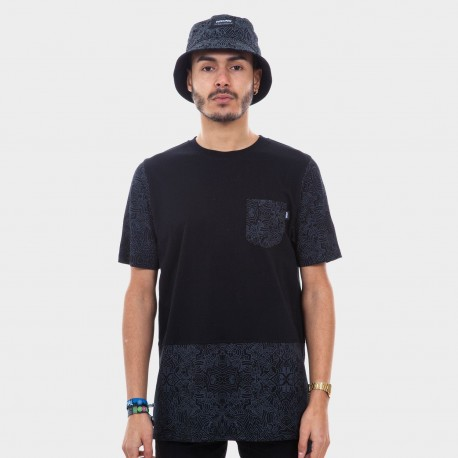 KOSZULKA WRUNG DINISION POCKETRIBE BLACK