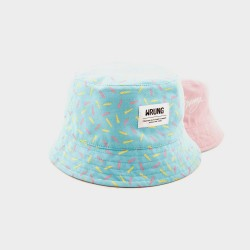 BUCKET HAT WRUNG DIVISION LIGHT BLUE