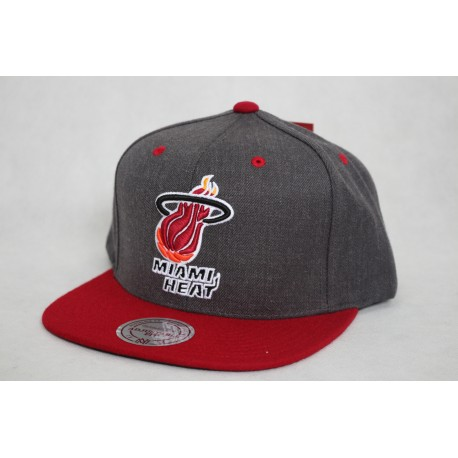 CZAPKA MITCHELL & NESS MIAMI HEAD NBA