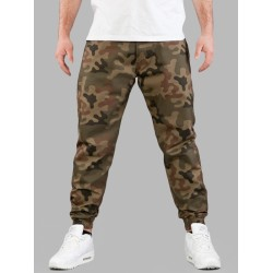 SPODNIE LABIRYNT JUNGLE CAMO JOGGER PANTS