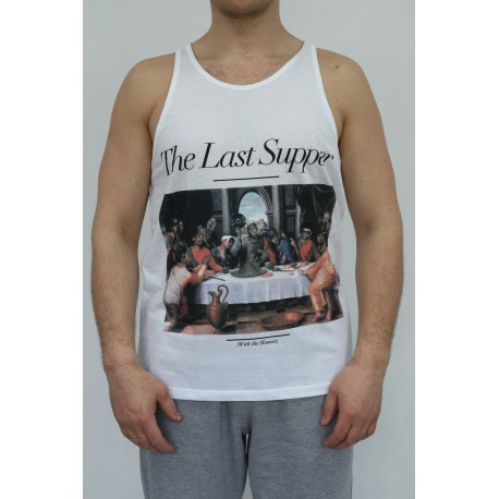 TANK TOP ICHIBAN LAST SUPPER WHITE