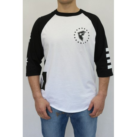 LONGSLEEVE FAMOUS STARS AND STRAPS WHITE OUT